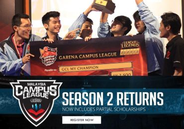 Garena Malaysia Campus League Featuring League of Legends