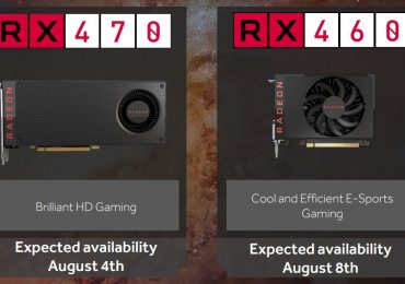 AMD Radeon RX 470 and RX 460 Availability Dates