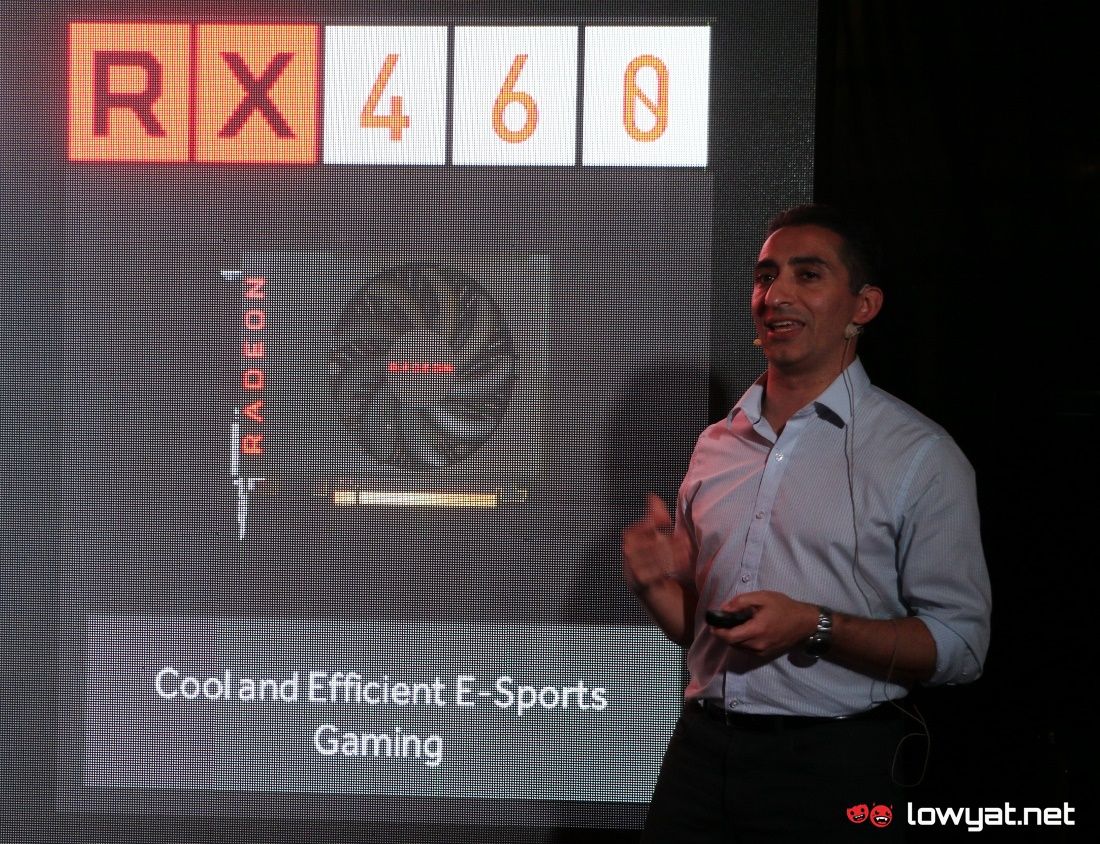 AMD Radeon RX 460 LYN Close Up 10