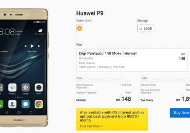 Digi Huawei P9 Bundle