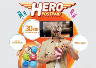 Hero Postpaid P98
