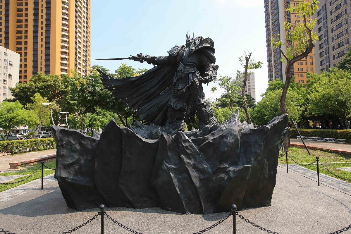 Lich King Arthas Taichung Taiwan Outside