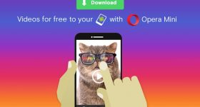 Opera Mini Download Videos from the Web