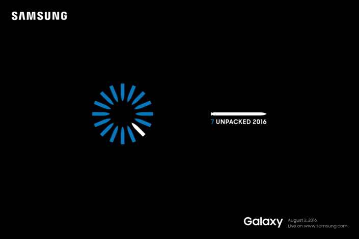 Samsung Unpacked 2016 Galaxy Note 7 Launch