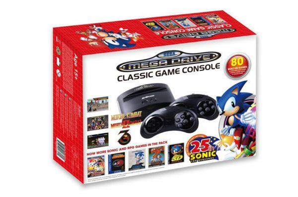 Sega Mega Drive Sonic Anniversary