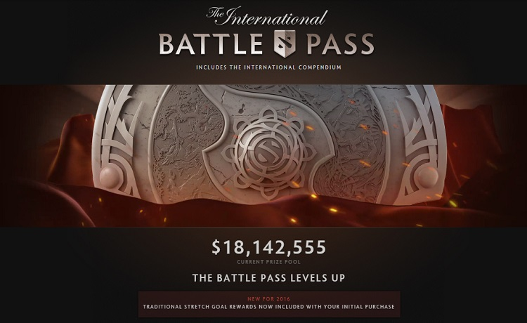TI6 Battle Pass Prize Pool