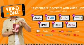 U Mobile Video Onz 7 New Channels