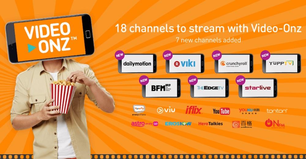 U Mobile Video Onz 7 New Channels