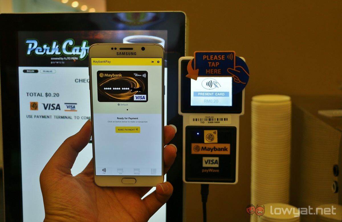 MaybankPay: the company's current cashless payment solution.