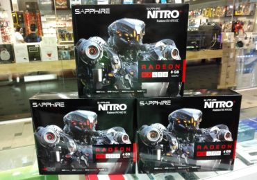 Sapphire Nitro+ RX 460 and RX 470 at Cycom Group