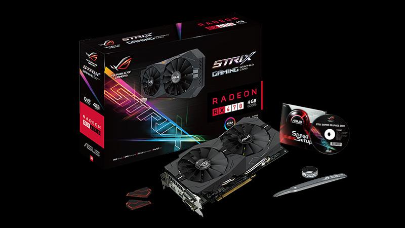 ASUS ROG Strix RX 470 Graphics Card