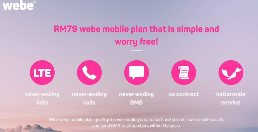 Webe Unlimited Plan