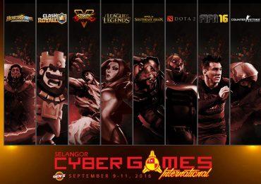 Selangor Cyber Games International 2016