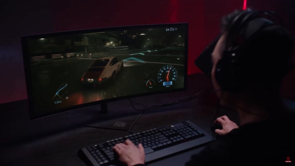 HP Omen Curved Monitor