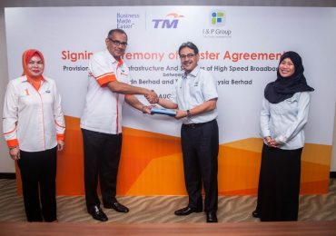 TM and I&P Group HSBB Agreement