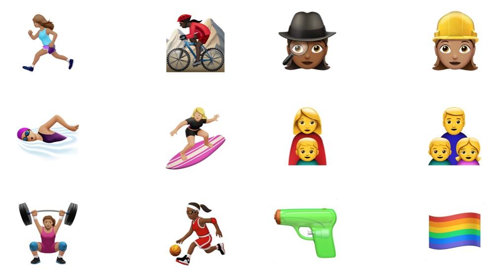 Apple New Emoji in iOS 10 Update