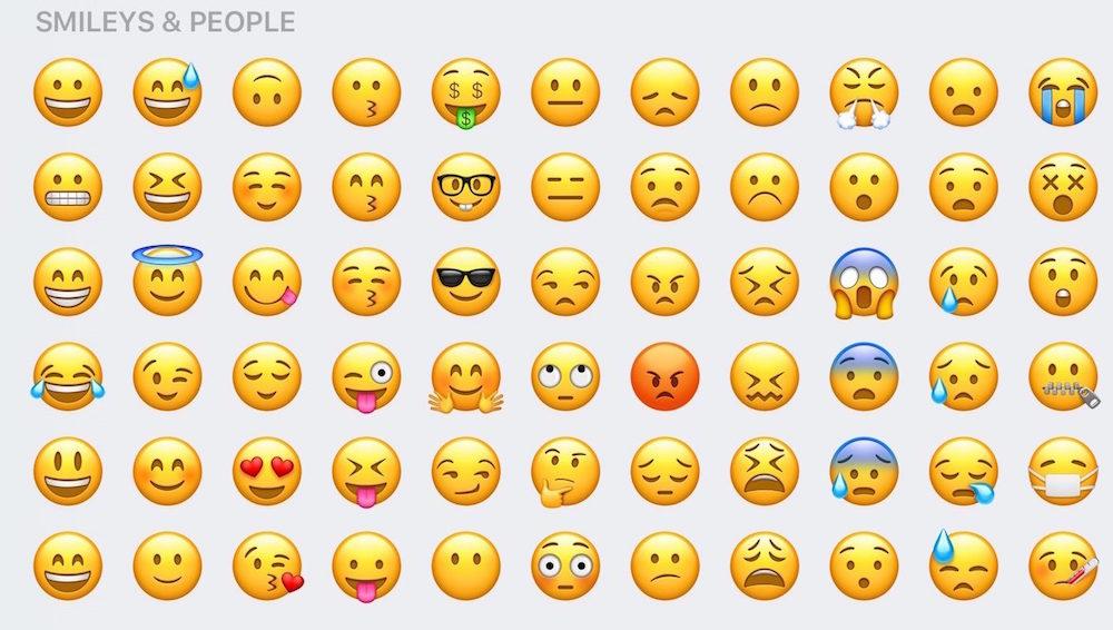 Apple Redesigned Emoji in iOS 10