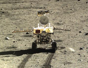 China Jade Rabbit Lunar Rover
