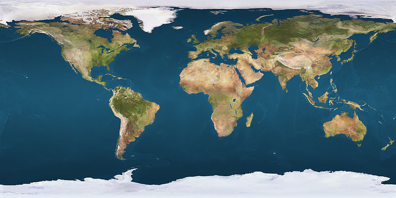 Compact Earth Map