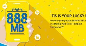 Digi Free 888MB data