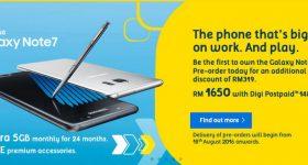 Digi Samsung Galaxy Note7 Preorder