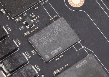 GDDR5X Chip