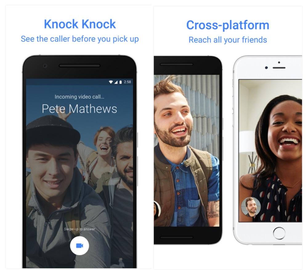 Google Duo Knock Knock and Cross Platform