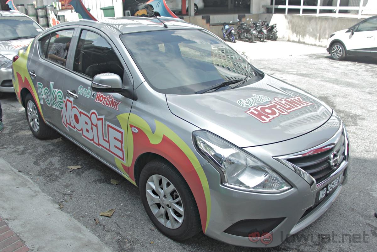 Grab x Hotlink PokeMobile Front
