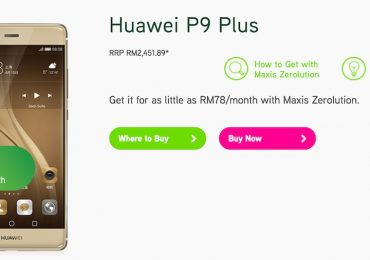Maxis Huawei P9 Plus