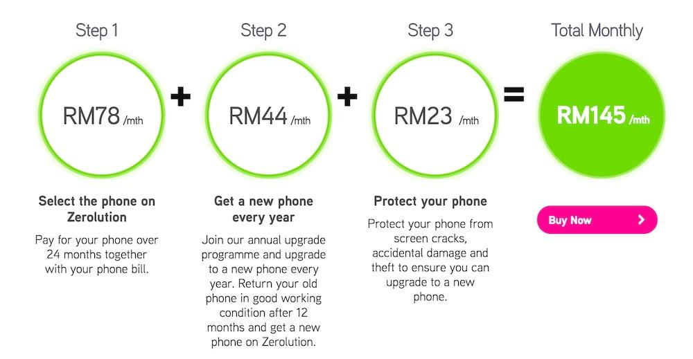 Maxis Huawei P9 Plus Zerolution