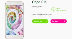 Maxis Oppo F1s