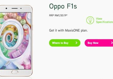 Maxis Oppo F1s