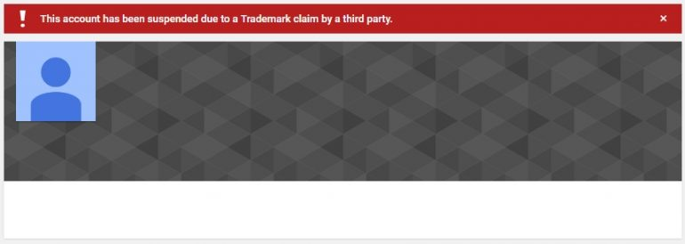 Mojang's Youtube Account Suspended Due To Trademark Claim