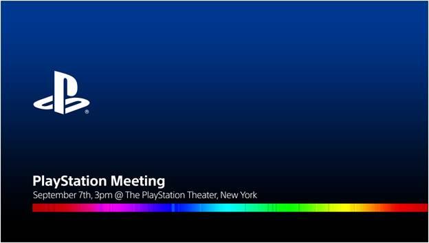 PlayStation Meeting 7 September