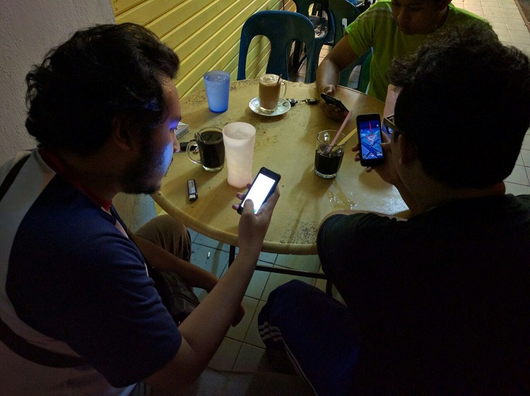 Pokemon Go Mamak Session