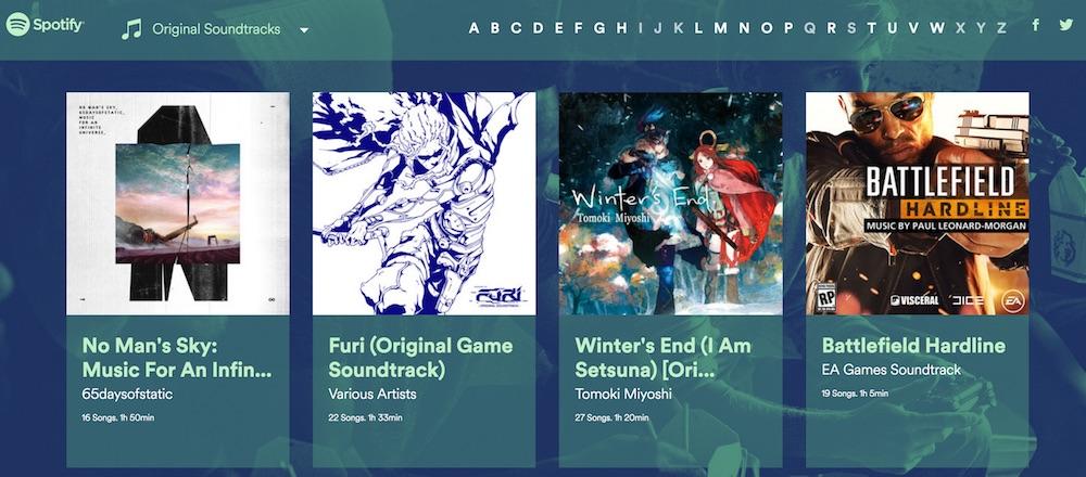 Spotify Gaming Music