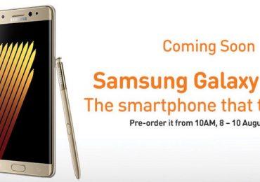 U Mobile Galaxy Note7 Preorder