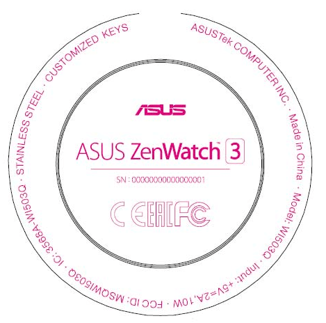 zenwatch-3-fcc-filing