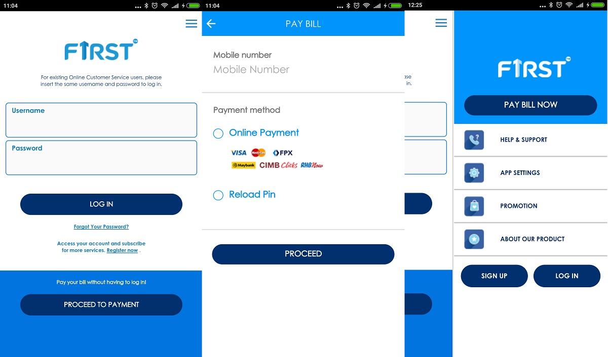 Celcom First App