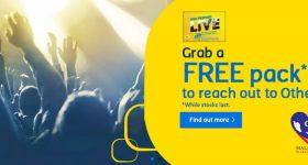 Digi Free Prepaid LiVE Pack