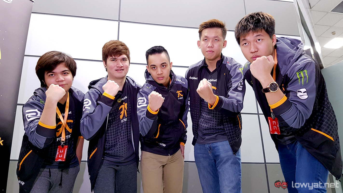 exclusive fnatic dota 2 on ti6 the new team roster and the sea