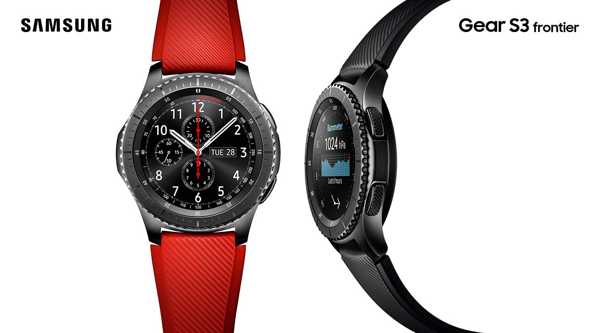 IFA 2016: Samsung Unveils New And Improved Gear S3 ...