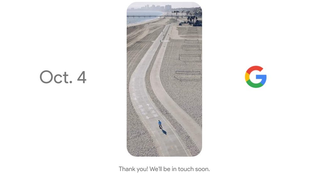 Google Tenfour Pixel 4 October 2016 Teaser