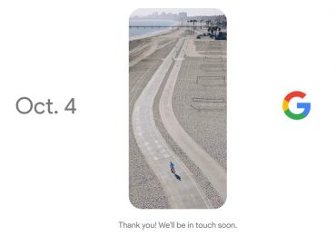 Google Tenfour Pixel 4 October 2016 Teaser