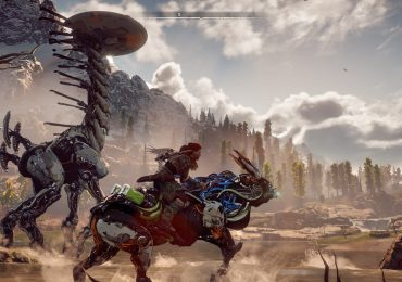 Horizon Zero Dawn Aloy Riding Mount