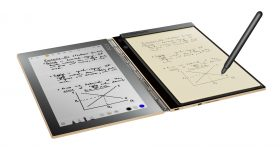 Lenovo Yoga Book Note Taking