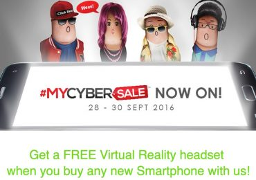 Maxis MYCYBERSALE Free VR Headset