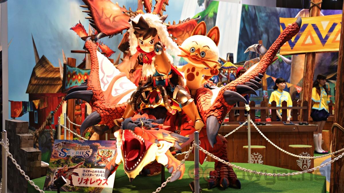 Monster Hunter Stories TGS 2016