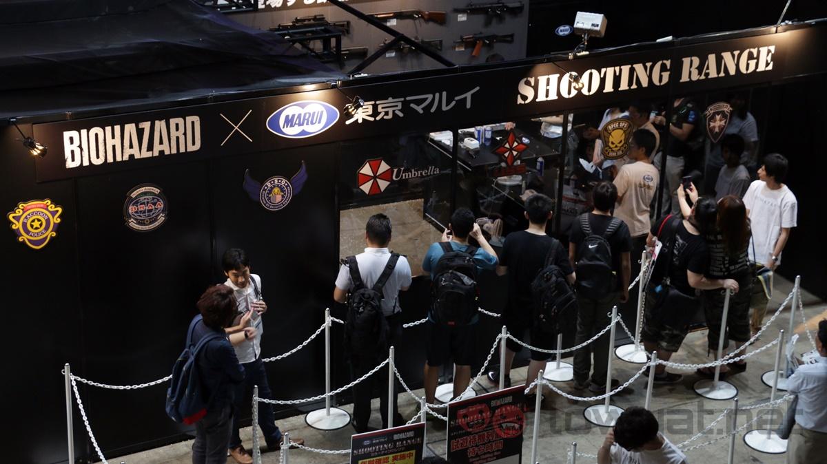 Resident Evil Biohazard Shooting Range TGS 2016