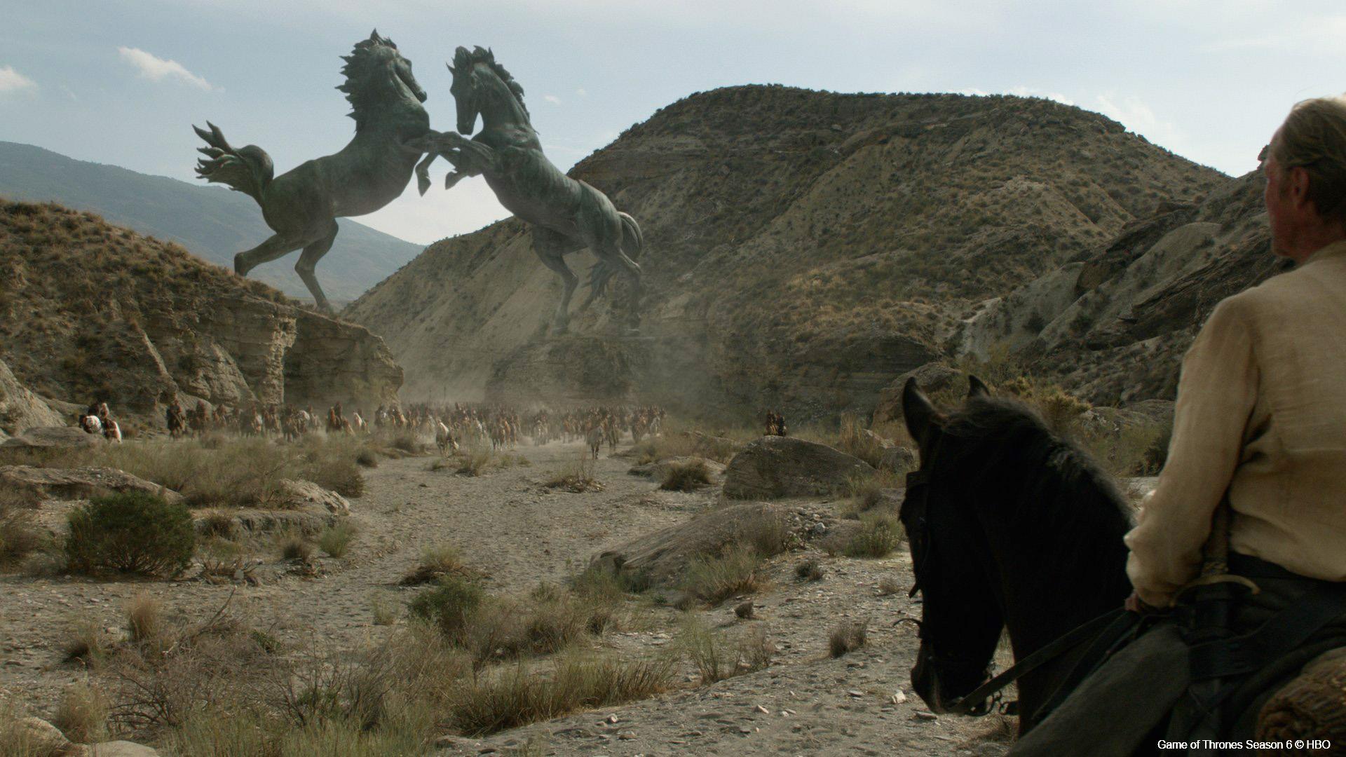 Rodeo FX GoT Season 6 Horses